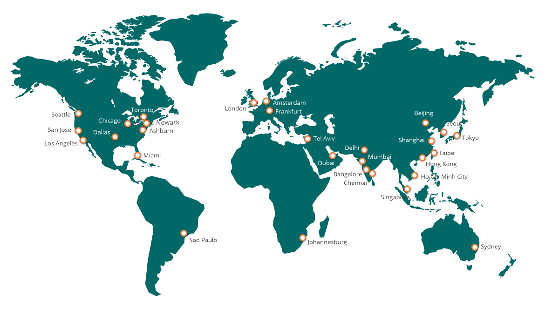 Global POP Footprint
