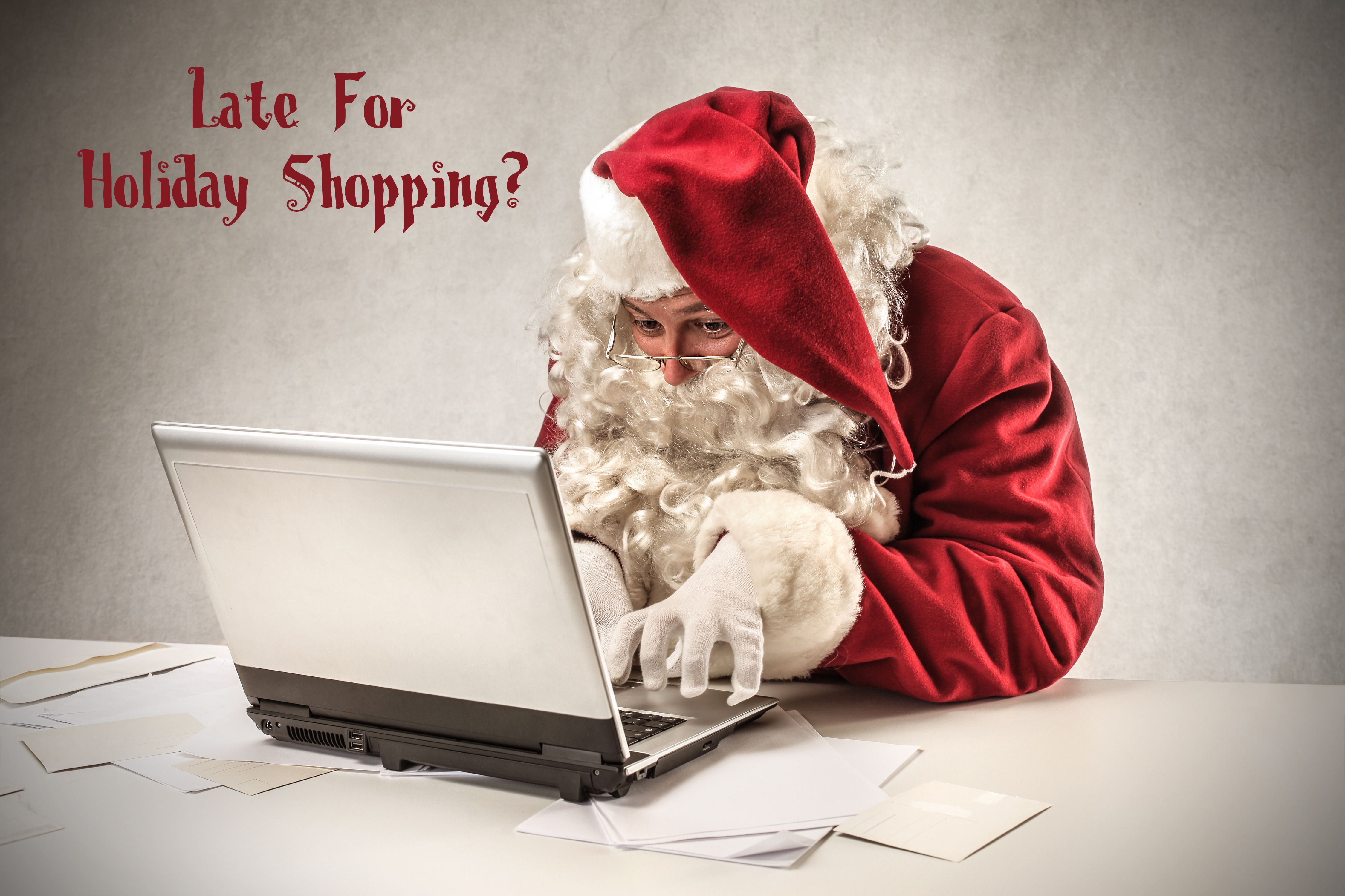 late holiday shopping