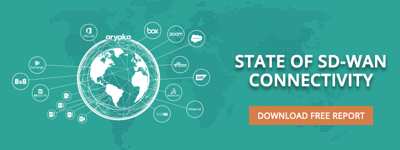 Download Aryaka's State of the SD-WAN Connectivity Report