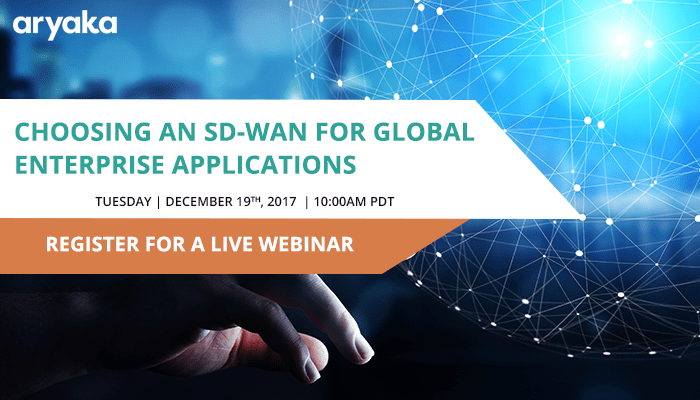 Choosing an SD-WAN for Global Enterprise Applications