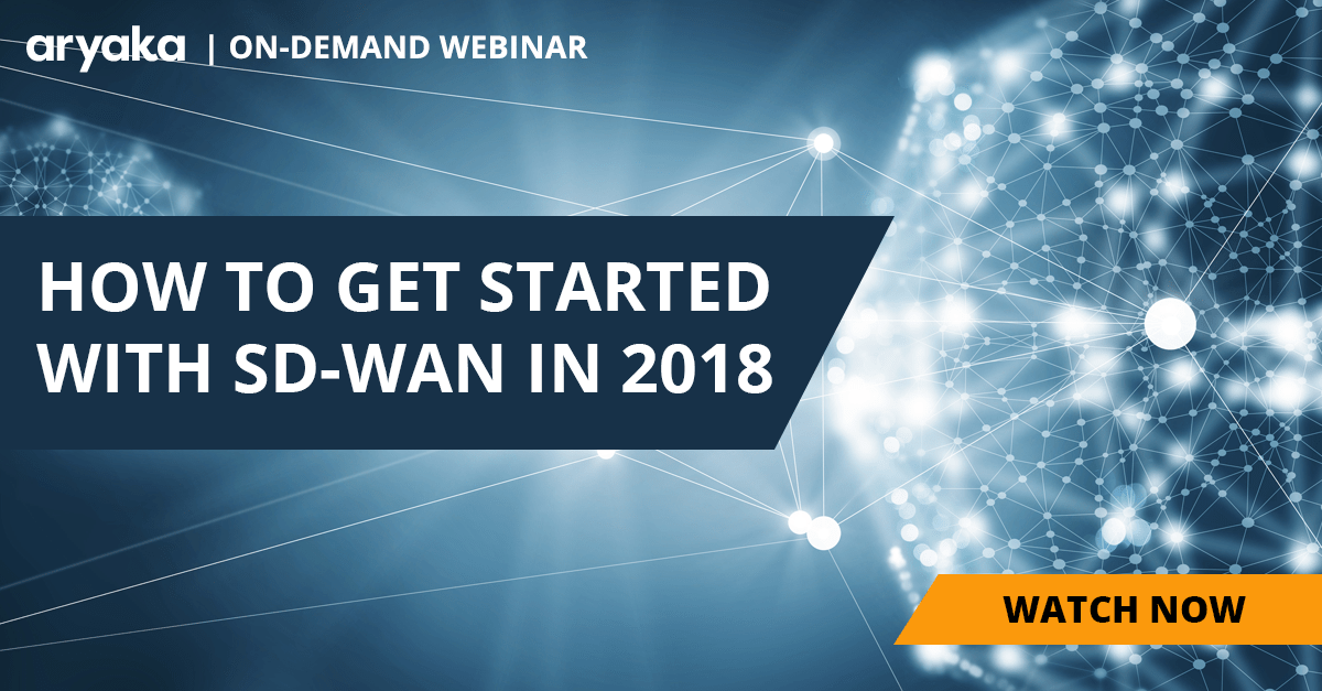 Getting Started with SD-WAN in 2018