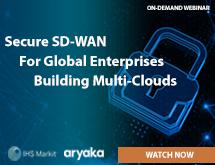 SD-WAN: What Should Global Enterprises Building Multi-Clouds Consider?
