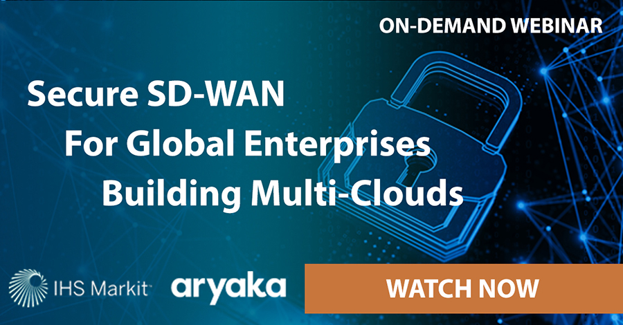 Secure SD-WAN for Global Enterprises Webinar