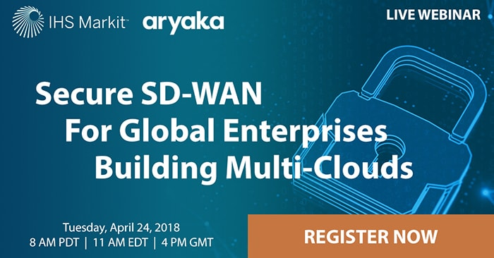 Secure SD-WAN for global enterprises building multi-clouds