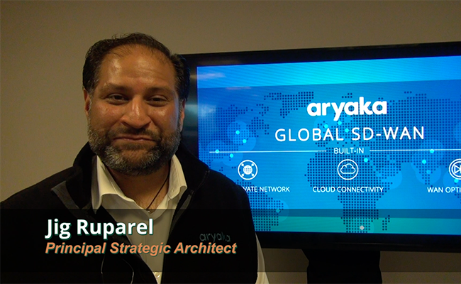 Introduction to MyAryaka: The Network and Application Visibility Portal for Your Global SD-WAN