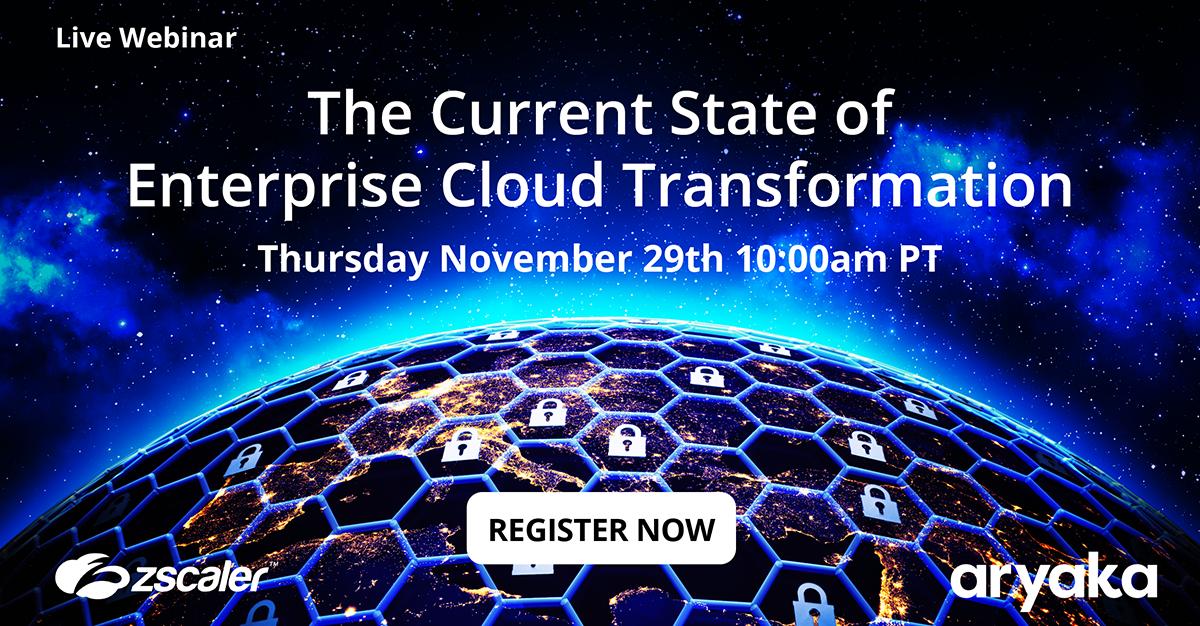 Enterprise cloud transformation