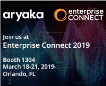 Learn how to overcome legacy WAN challenges with Aryaka Networks at Enterprise Connect 2019