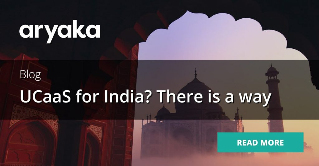 UCaaS for India? There is a Way