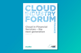 Financial services organizations in the UK getting ready for a smarter, digital future