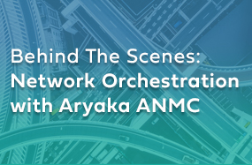 Behind The Scenes: Network Orchestration with Aryaka ANMC