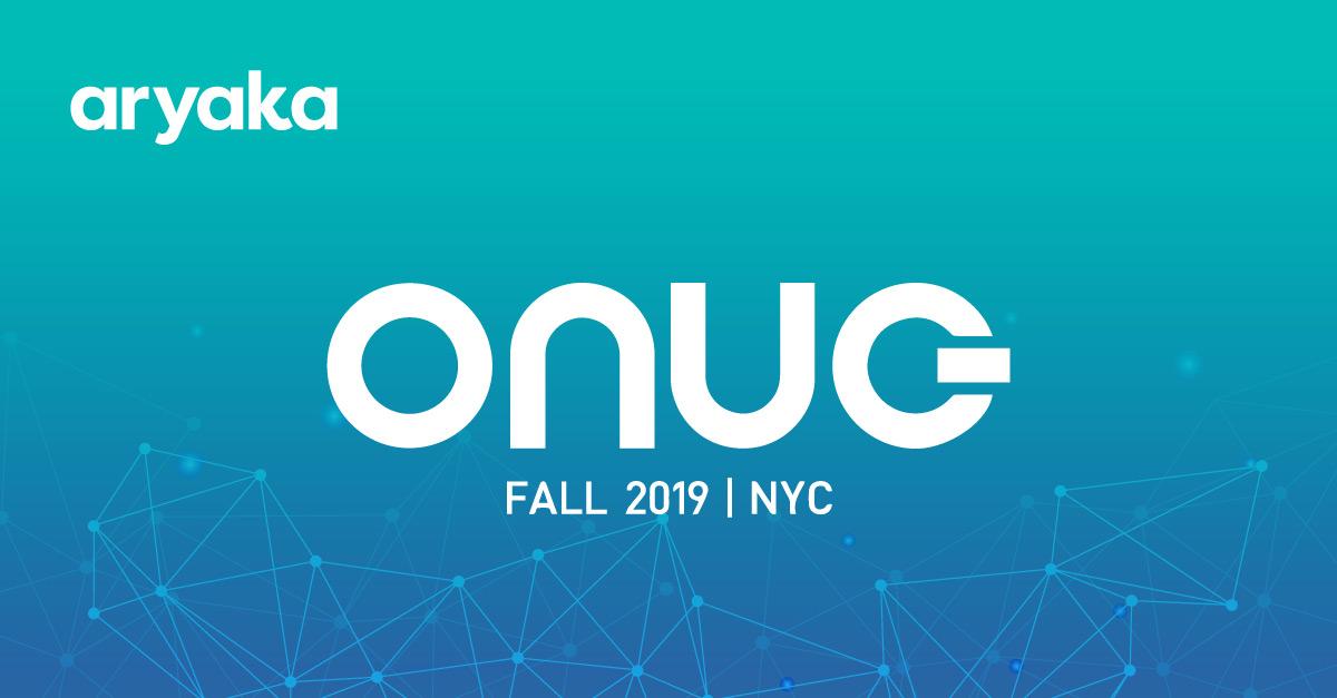 ONUG Fall Conference 2019