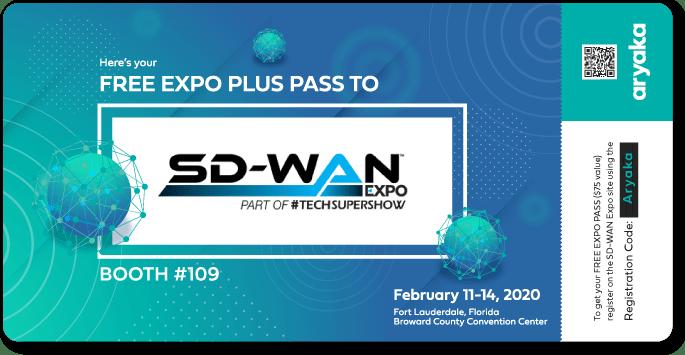 Free SD-WAN Expo Pass