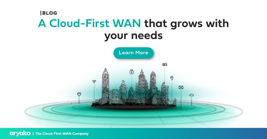A Cloud-First WAN that grows with your needs