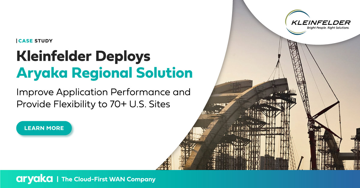 Kleinfelder Replaces MPLS With SD-WAN | Case Study