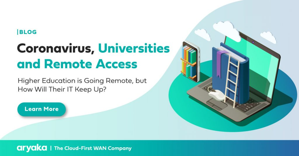 Coronavirus, Universities and Remote Access: Higher Education is Going Remote, but How Will Their IT Keep Up?
