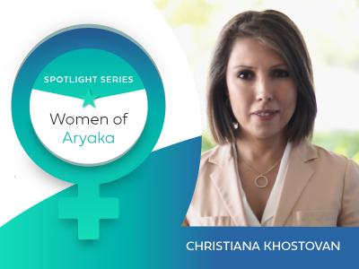 Spotlight on Aryaka Women – Christiana Khostovan