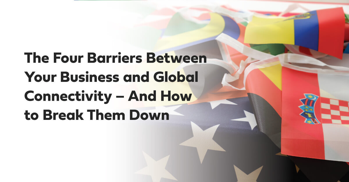 four barriers between business