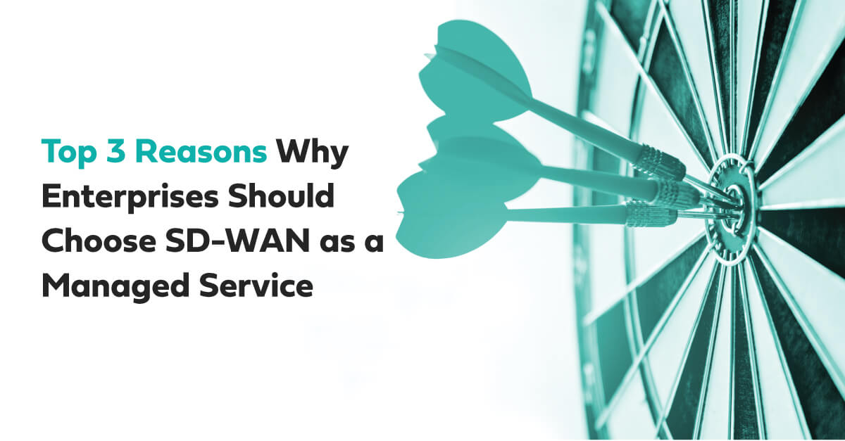 choose sd wan as managed service
