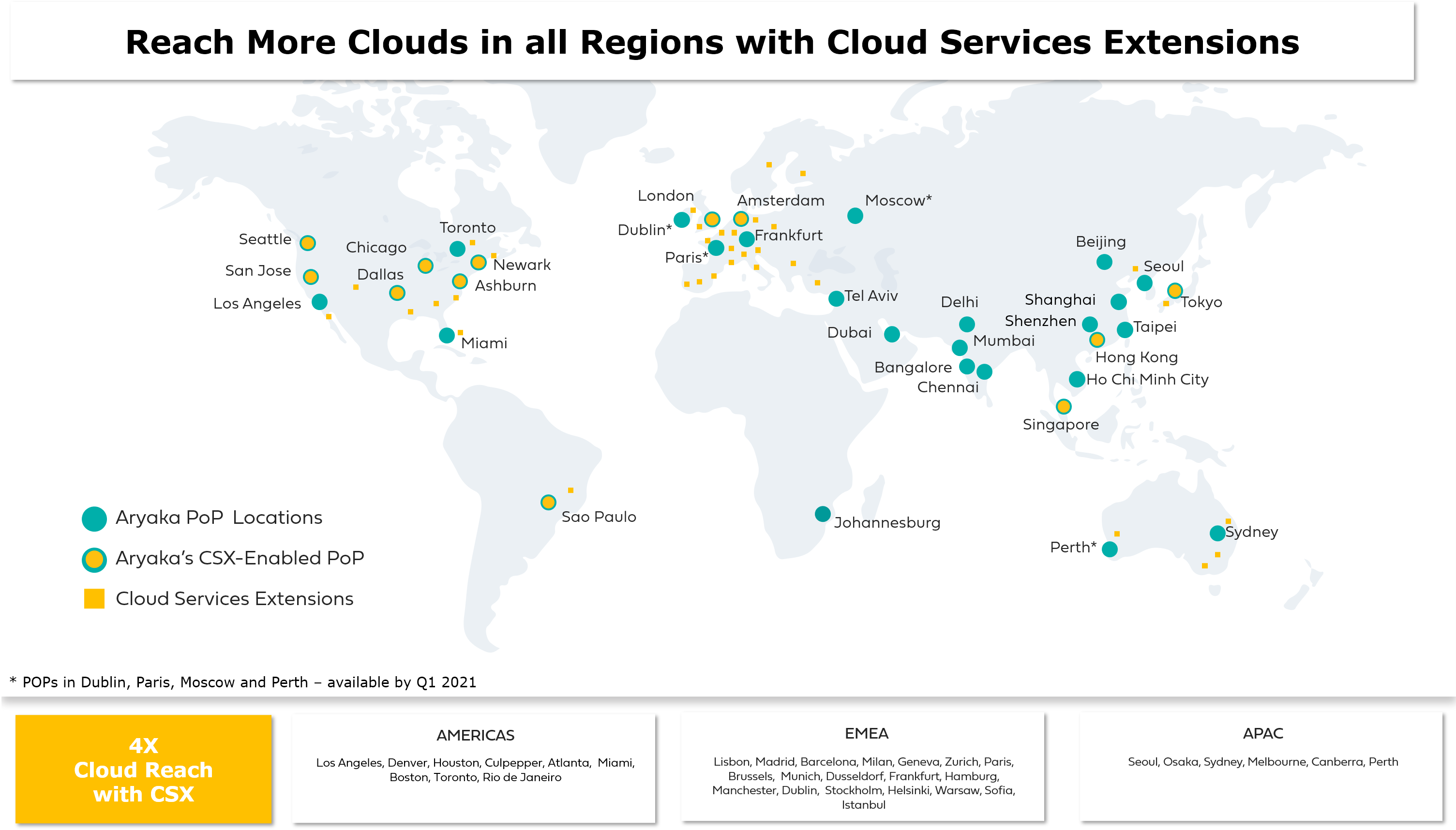Extended Cloud Reach with Aryaka's Cloud Services Extensions