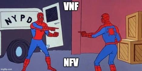 VNF vs NFV