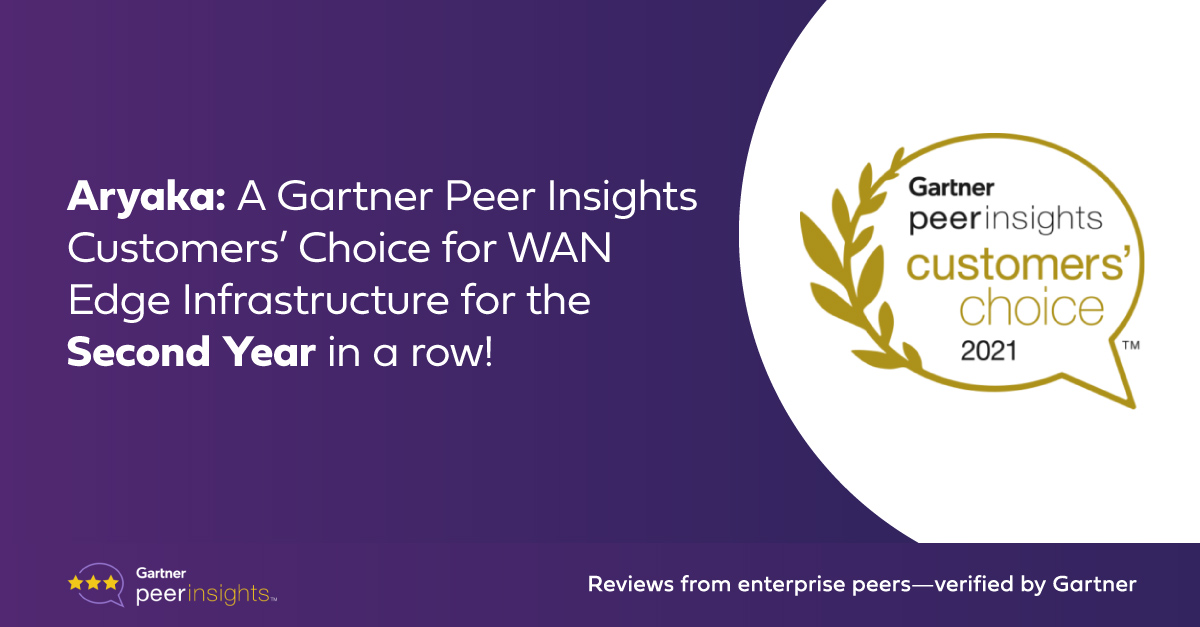 2021 Gartner Peer Insights Customers' choice