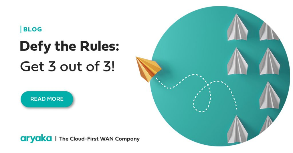 Defy the Rules: Get 3 out of 3!