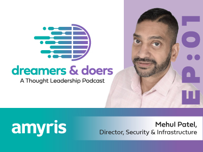 Announcing the Aryaka Dreamers and Doers Podcast; Flagship Episode #1 featuring Amyris